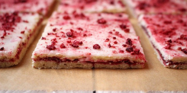 Better Than Pop-Tarts: Danish Raspberry Bars | HuffPost Life