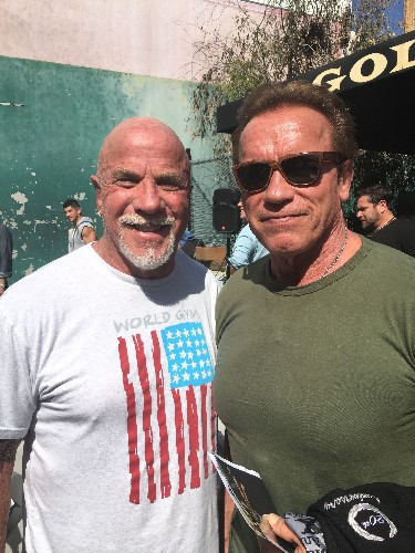 Training With Arnold. History We Made Together