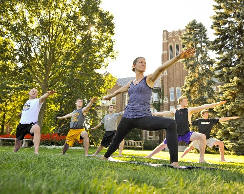 Yoga Service within a College Community