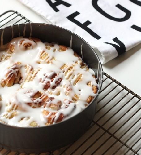 Norwegian Recipes: Cinnamon Roll Cake