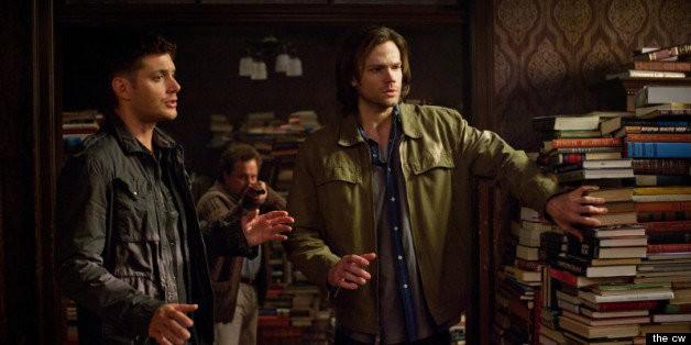 'Supernatural' Season 8, Episode 21 Recap: Sam And Dean Meet Metatron In 'The Great Escapist'