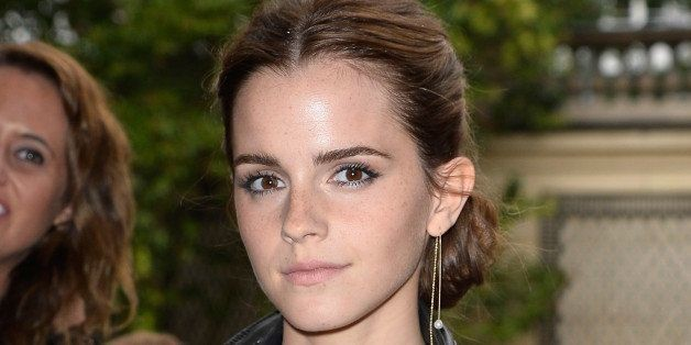 Emma Watson Switches It Up In Racy Bra Top And See-Through Skirt