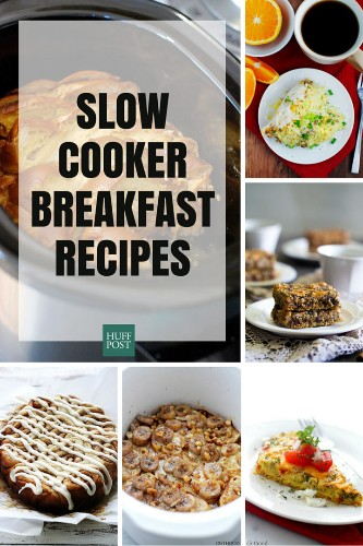 12 Breakfast Slow Cooker Recipes That Make Mornings Easier | HuffPost Life