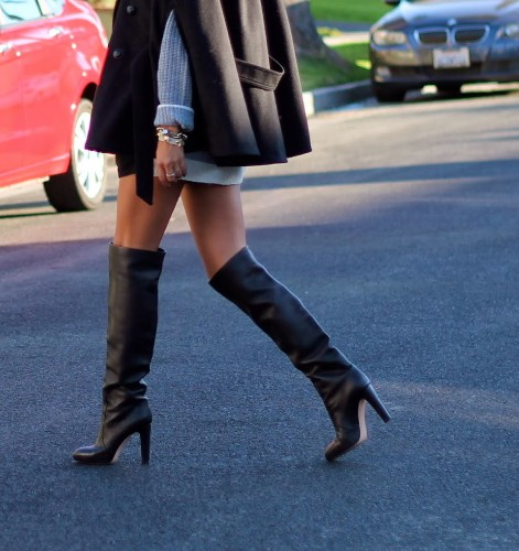 Walk This Way: 3 Ways to Wear Over-the-Knee Boots