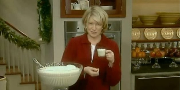 Martha Stewart's 9 Booziest Tips For Getting Drunk On Eggnog   HuffPost Life