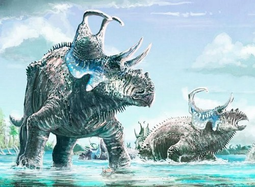 New Horned Dinosaur Species Unearthed In Utah