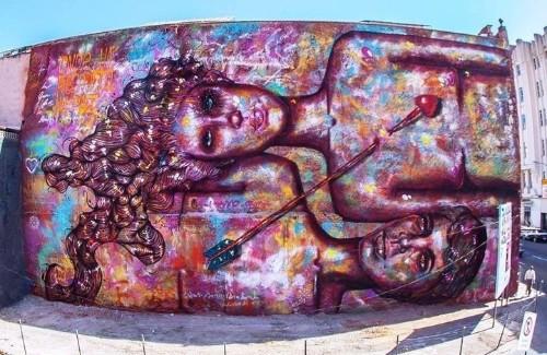 How A Brazilian Graffiti Artist Is Empowering Women Around The World