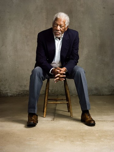 Morgan Freeman Explains How God Can Be Real And An Invention