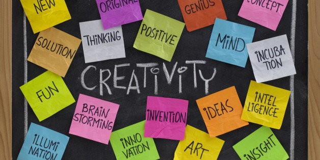 A Few Short Rules on Being Creative