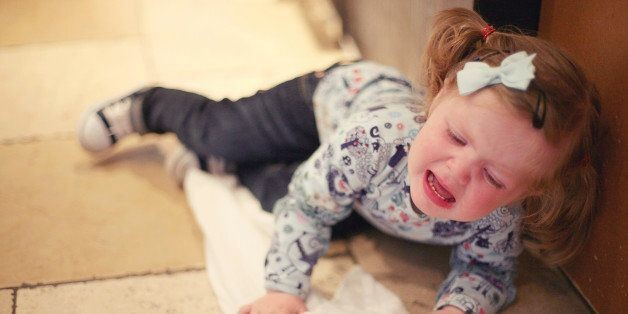 How to Escalate Tears into a Tantrum