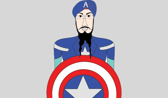 The Sikh Boy Who Developed Breasts And Grew Up To Don A Superhero Uniform