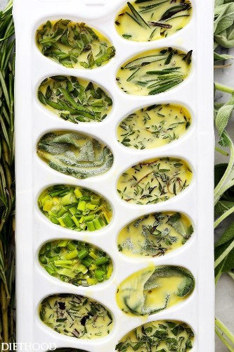 How To Freeze Fresh Herbs In Oil To Make Them Last Longer | HuffPost Life
