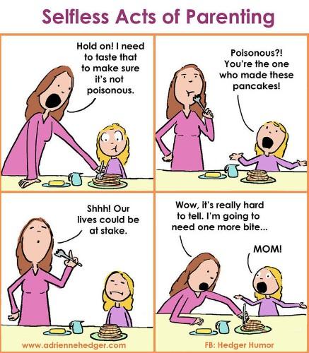 Mom's Parenting Cartoons Will Have You Nodding In Solidarity | HuffPost Life
