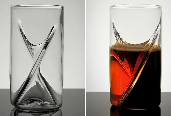 This Glass Lets You Drink Two Different Beers at the Same Time