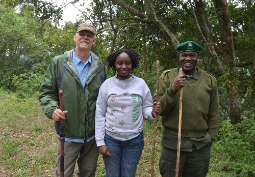 The Gorillas of Bwindi - Dr. Gladys and CTPH