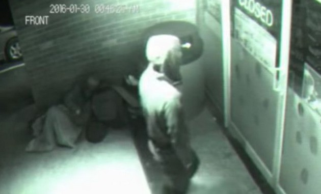 'Time Travelling Ghost' In Hoodie Walks Straight Through Closed Shop Door To Get A Snack