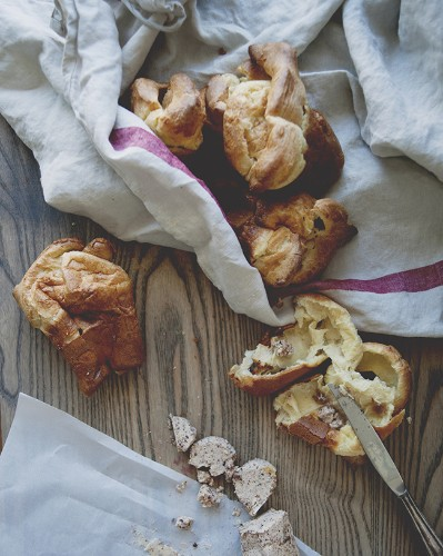 Brown Butter Popovers With Fig Butter: A Kitchy Kitchen Recipe