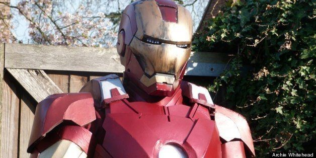 Archie Whitehead, 17-Year-Old, Builds Life-Size Iron Man Suit (PHOTOS)