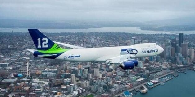 A Special Seahawks Plane Flew All Over Washington, Because That's How Seattle Rolls | HuffPost Life