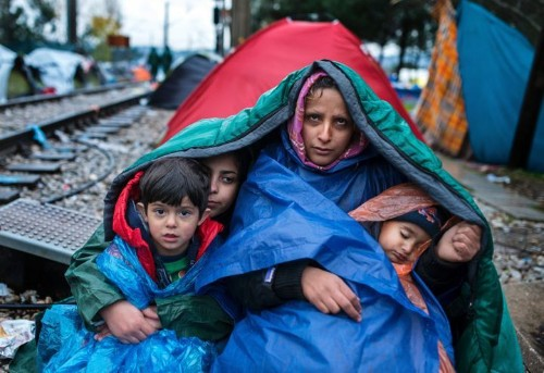Refugees In Greece Brace For A Cold Winter Ahead