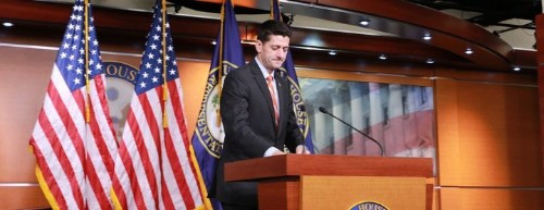 Paul Ryan's Plan For A Budget: Let Every Republican Decide