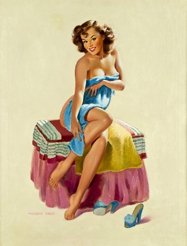 One Of The World's Largest Collections Of Pin-Up Girls Goes On View