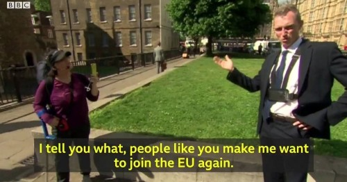 This Completely Cringe Interview Sums Up The State Of Brexit Britain Right Now