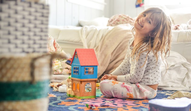 Why You Shouldn't Worry About How Clean Your House Is, Your Kids Will Be Alright