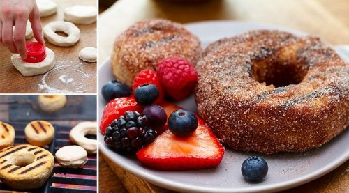 Once You Grill Donuts, Your Mouth Will Go Nuts   HuffPost Life