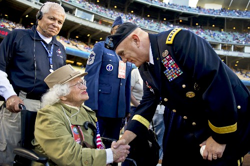Wish of 104-Year-Old World War II Veteran Comes True