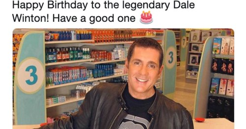 Everyone Noticed What Was Wrong With Challenge TV's Birthday Tweet To Dale Winton, Except Challenge TV