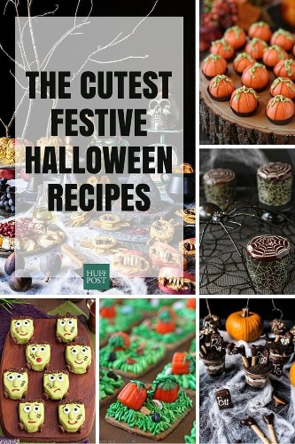 The Cutest Halloween Recipes Ever. No Blood Or Gore Here.   HuffPost Life