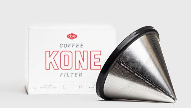 The Coava Kone Stainless Steel Coffee Filter: Extravagant Or Brilliant? (PHOTO) | HuffPost Life