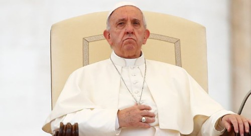 The Pope's New Message: Quit Your Whining