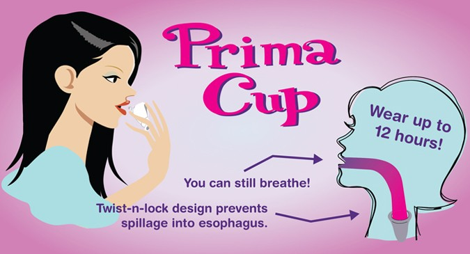The Prima Cup: For a Woman's Special Time of the Day!