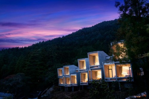 This 'Glamping' Resort Has The Most Epic View In All Of Japan | HuffPost Life