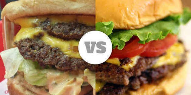 Shake Shack vs. In-N-Out: An East vs. West Coast Burger Brouhaha