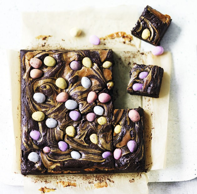 Chocolate Brownie Recipe For Your Leftover Easter Eggs