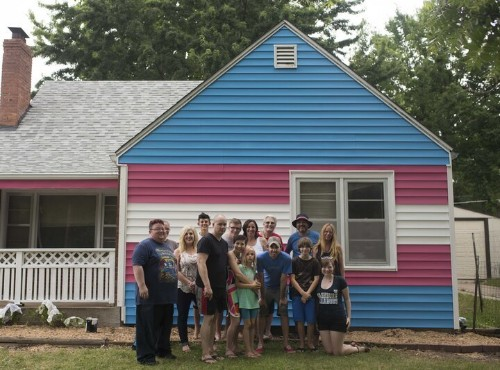 Westboro Members Now Live Next To House Painted Colors Of Transgender Flag