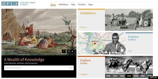 Digital Public Library Of America (DPLA) Launches To Public