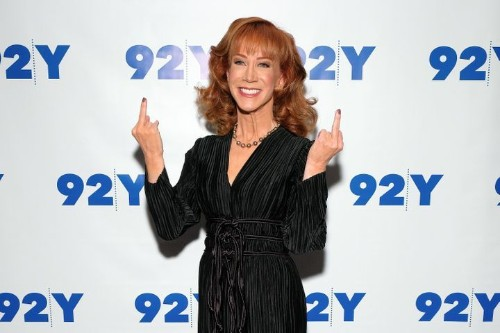 Watch Kathy Griffin Boo Megyn Kelly For Having 'High Hopes' For Donald Trump