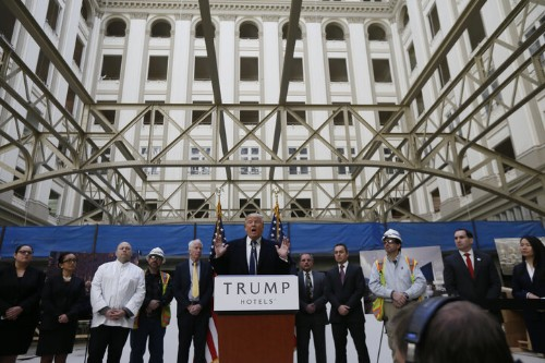 Donald Trump's Biggest Conflict Of Interest Is A Half Mile From The White House
