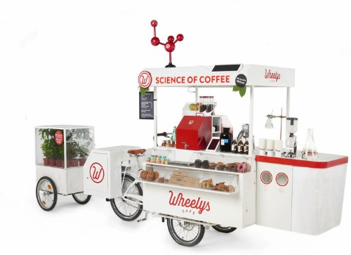 This Bicycle Coffeeshop Chain Might Give Starbucks A Run For Its Money