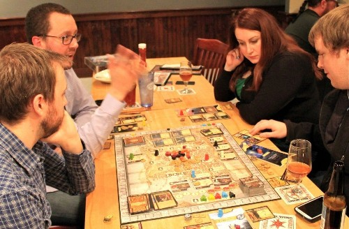 Craft Beer Going Social Analog With Card and Board Games