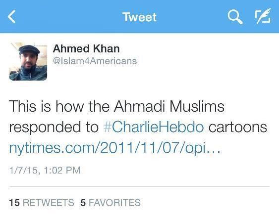 Defending Prophet Muhammad but Through the Pen Instead
