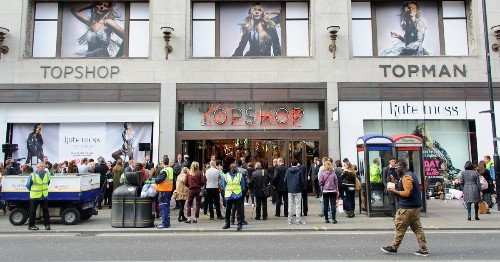 Topshop Owner Sir Philip Green To Close 23 Stores, Putting 520 Jobs At Risk