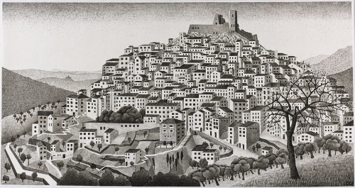 Previously Unknown Work By M.C. Escher Goes On View In Holland