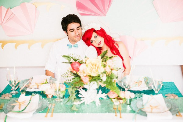 'Little Mermaid' Wedding Ideas For Your Disney-Loving Heart