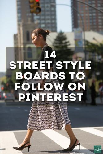 14 Street Style Boards You Should Follow On Pinterest