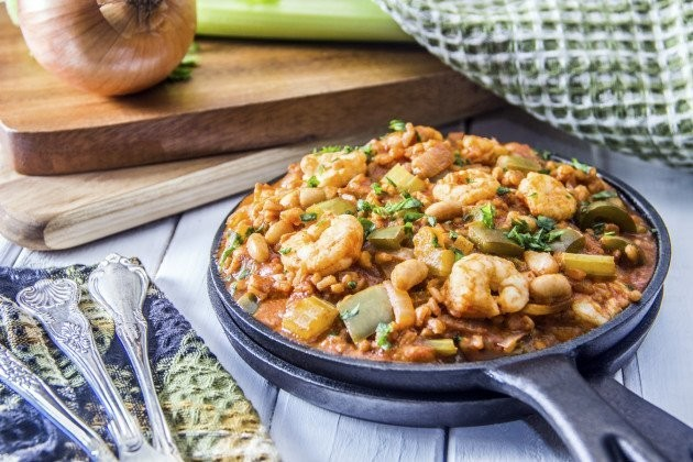Healthier Jambalaya For Fat Tuesday